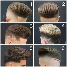 Carlos hair and beauty hair styles, hair, beard styles y hai Mens Haircuts Short Hair, Haircuts For Medium Hair, Cool Haircuts, Hairstyles Haircuts, Medium Hair Styles, Fade Haircut Styles, Hair And Beard Styles, Curly Hair Styles, Gents Hair Style