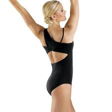 Leah takes ballet six days a week, so black leotards are a must! DWS offers a beautiful variety of leotards to keep her from getting bored.