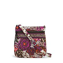 Vera Badley Petite Double Zip Hipster Crossbody in Rosewood. Love this one so much, I have a second one in Rio. Vera Bradley Handbags, Vera Bradley Crossbody, Fabric Handbags, Purses And Handbags, Hipster Purse, Fashion Capsule, Plus Size Fashion, Crossbody Bag, Shoulder Bags
