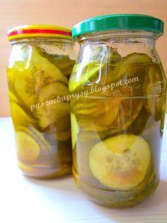 Pyszne Kaprysy: OGÓRKI Z KURKUMĄ Pickles, Cucumber, Food, Turmeric, Essen, Meals, Pickle, Yemek, Zucchini