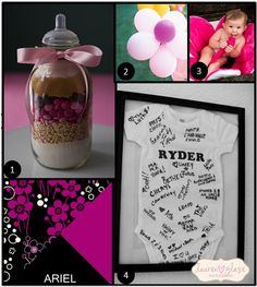 Inspirations for Baby Shower Color Schemes