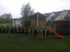 Tym razem prawdziwe wyzwanie: domek dla dzieci.
