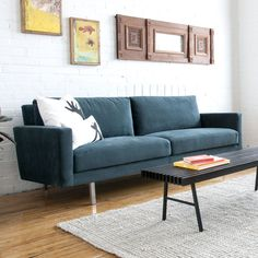 Gus Modern Bloor Sofa at Mod Livin' -- now off + we pay your sales tax! Modern Sofa, Living Room Modern, Contemporary Furniture, Small Living, Living Rooms, Furniture Direct, Furniture Outlet, Home Furnishing Stores, Home Furnishings