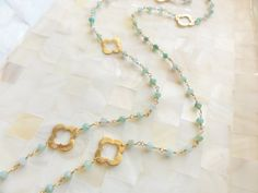 Faceted Chrysoprase Rondelle and Brushed Vermeil by divadeals2004, $90.00
