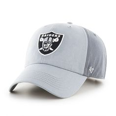 Oakland Raiders Northside Clean Up Storm 47 Brand Adjustable Hat 4efcaaefd