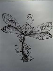 I love dragonflies!!! wow this would make a great tattoo