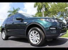 2016 Land Rover Discovery Sport HSE in Beautiful Aintree Green! #DiscoverySport #landroverpalmbeach http://www.landroverpalmbeach.com/