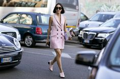 MFW : O melhor streetstyle e looks da semana de moda de Milão