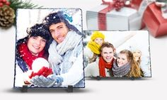 Groupon - One or Three Custom Photo Prints on Slate from PrinterPix (Up to 86% Off). Three Options Available.. Groupon deal price: $5