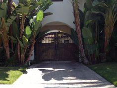 Driveway gates.  San Clemente, CAL