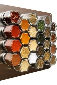 Are you looking for magnetic spice jars? If so, please come to our website to view 16 awesome magnetic spice jar and rack models to get some ideas for your kitchen.