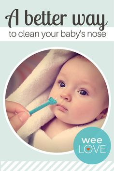 For those who are still weirded out by nasal aspirators (ahem, Nosefrida), oogiebear has you covered.