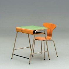 Mobilier Scolaire Arne Jacobsen édité par Fritz Hansen - 1939