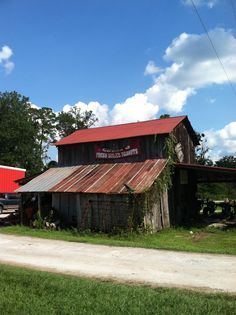 boiled peanuts, Coval's Red Barn, Whiteville, North Carolina