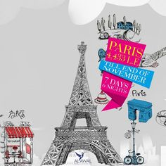 #PARIS is always a good idea From 25/10 Till The End of NOVEMBER  07 Days/ 06 Nights Daily Buffet Breakfast Round Trip Transfer by A/C coach  Just 4,433 L.E Per Person in DBL Room  Call us for more information  (+202) 22696880  (+2) 01026055589  For The Latest Offers, send your email in private message #Alawal #Travel and #Tourism