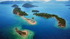 Unearthly Places in Turkey, Dalaman, Fethiye and Kabak Bay