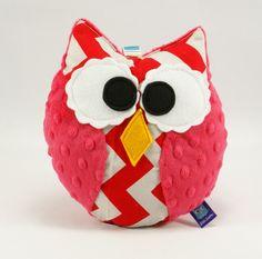 #chevron #littlesophie #owl #baby #kids #forkids #plush #minky #handmade #toy