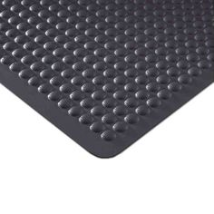 Airflex All Rubber Floor Mat: 2' x 3' - Black by Andersen. $32.50. Certified slip resistant by the National Floor Safety Institute. Launderable and highly chemical resistant. Fashionable colors add the finishing touches. Works in both wet and dry environments. Functional dome design. This high-performance anti-fatigue bar service mat provides relief from back and leg stress with a comfortable and functional dome design. The washable and highly chemical-resistant nitrile rubbe...