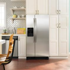Enter for a chance to win this Amana side-by-side fridge by Whirlpool! (Approx. retail value: $1,299.00); Amana.com