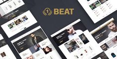 Beatshop is a creative multipurpose WooCommerce Wordpress theme with unique design concepts and ultimate core features to build powerful E-Shop for Fashion, Cosmetic, Shoes, etc. The theme ...