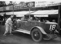 LE MANS 1925 - Ravel 12cv Sport  #18 - Eugene van den Bossche - Abel Smeets