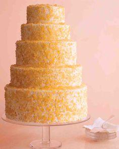 Basic Yellow Cake and Swiss Meringue Buttercream