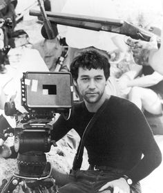 Sam Raimi behind the scenes on the set of #EvilDead II(1987).