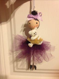 clothes pin doll ornament