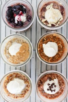 Mason Jar Steel Cut Oats - cooked right in the jar inside a pressure cooker. Prepare the night before and easily cook in the morning to enjoy chewy, delicious steel cut oats of all varieties for breakfast. Instant Pot Pressure Cooker, Pressure Cooker Recipes, Pressure Cooking, Slow Cooker, Steel Cut Oats, Oats Recipes, Thm Recipes, Healthy Recipes, How To Make Breakfast
