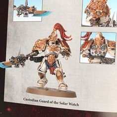Image result for Solar Watch 40K custodes Sisters Of Silence, Solar Watch, Warhammer 40000, Raiders, Miniatures, War Hammer, Watches, Dwarf, Knights