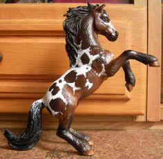 Schleich pegasus customized and repainted