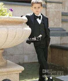 new fashion little boy formal dress and male flowers childs clothing suits standard boy suits fashion boys suits