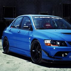 JDM-themed  EVO! Would love to have a EVO like this! :D