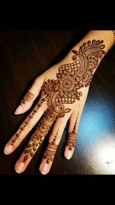 Latest Full Hand Pretty Mehndi Designs For Brides - Hennna - Henna Designs Hand Latest Arabic Mehndi Designs, Back Hand Mehndi Designs, Henna Art Designs, Mehndi Designs For Girls, Mehndi Designs 2018, Mehndi Designs For Fingers, Wedding Mehndi Designs, Unique Mehndi Designs, Mehndi Design Pictures