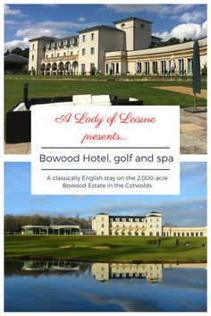 A boutique hotel in the Cotswolds with a golf course, spa and English stately home next door Luxury Spa Hotels, Luxury Travel, Best Hotels, Golf Hotel, Hotel Spa, Country House Hotels, Travel Reviews, Luxury Holidays, Vacation Trips