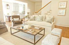 Beautiful neutral living room