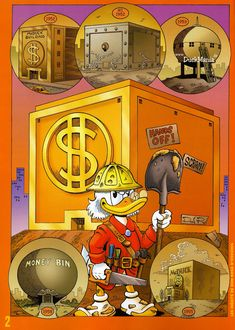 Scrooge McDuck by Don Rosa      ........................................................ Please save this pin... ........................................................... Visit Now!  OwnItLand.com