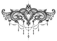 Similar image - Girly Tattoos, Henna Tattoos, Pretty Tattoos, Mini Tattoos, Beautiful Tattoos, Body Art Tattoos, Tribal Tattoos, Small Tattoos, Lace Tattoo Design