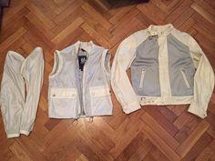 Belstaff 3 in 1 Jacket Beige Women Size 42 Vest hike jacket coat #Belstaff #BasicJacket