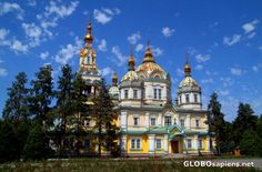 Gorgeous church in Almaty...built without using any nails