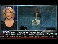 """Dr Ben Carson: Obama Trying To """"Destroy"""" America - Fair To Blame The Pre..."""