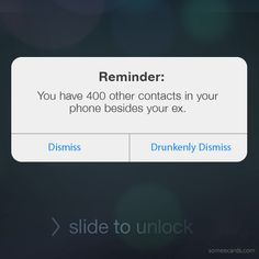 Friendly reminder.