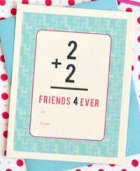 Class Valentine's free printable