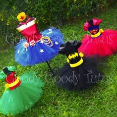 Dylan wants to be captain America, so maybe I can have Cadence be one of these so they can match!! Too cute!!