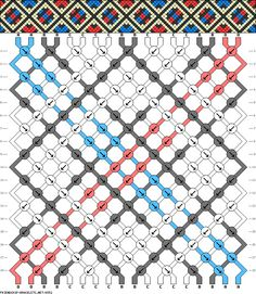 18 strings 18 rows 4 colors