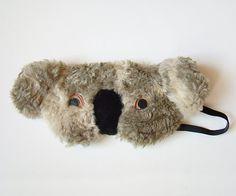 Travel sleep mask eye mask  Koala por szududu en Etsy, zł58.00