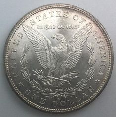 1880 S San Francisco USA Silver Dollar Morgan Dollar Nice Toning Fully Lustrous Gift Idea jewelry Belt Buckle Cool Belt Buckles, Coin Values, Old Coins, Morgan Silver Dollar, Silver Coins, Arm Warmers, Jewelry Gifts, San Francisco, Delicate