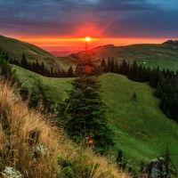 Rarau Mountains, Romania (photo by Sveduneac Dorin Lucian) Dream Images, Photo Contest, True Beauty, Summer 2014, Romania, Country Roads, Mountains, Sunset, World