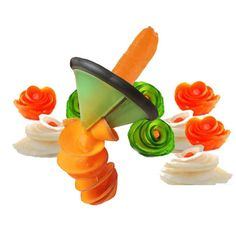Kitchen Gadget Creative Fruit Vegetable Peeler Slicer Grater Carve Volume Flower Spiral Cutter kitchen Cooking Accessories Features: Product name: Multifunction Volume flower tool Product material: Stainless steel + Food grade PP Specifications: Diameter is about 9.6cmheight is about 5cm Color:Random Product packaging: 1pc USD 4.88/pieceUSD 4.88/pieceUSD 1.61/pieceUSD 4.95/pieceUSD 4.64/pieceUSD 4.14/lotUSD 1.99-4.28/pieceUSD 2.52/piece