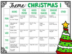 Tot School: Christmas